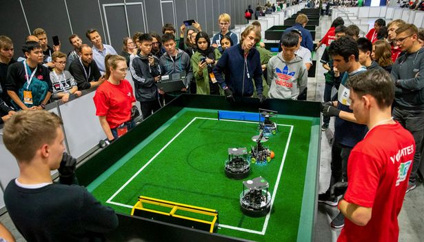 Robot footballers will soon be good enough to win human World Cup, say boffins