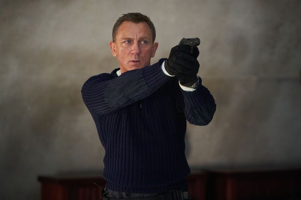 Daniel Craig playing James Bond in new film No Time to Die which is released at the end of the month