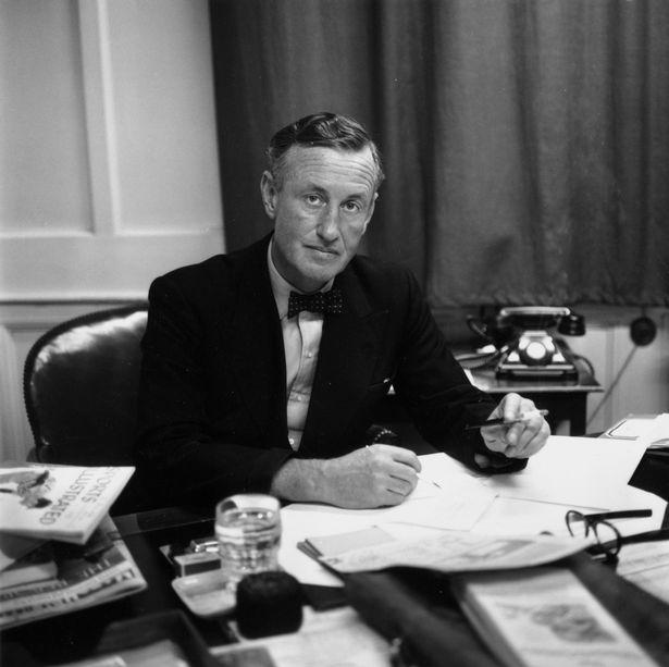 Ian Fleming author of James Bond and Chitty Chitty Bang Bang