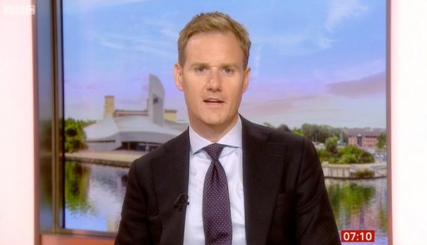 Dan is juggling BBC Breakfast and Strictly