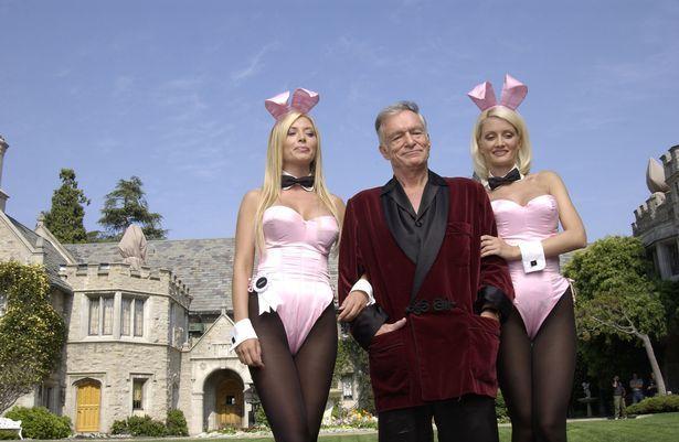 Holly stayed in then boyfriend Hugh Hefner's huge mansion for seven years