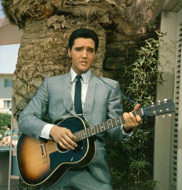 Holly said Elvis Presley never stayed at Hugh Hefner's homes