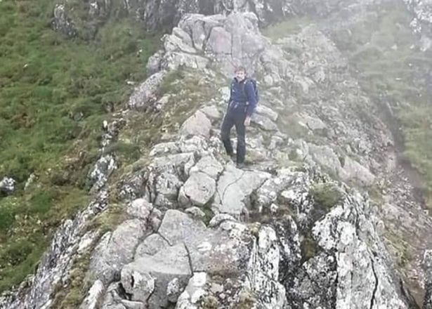 Mike Campbell was hiking in the Isle of Skye during extreme weather conditions