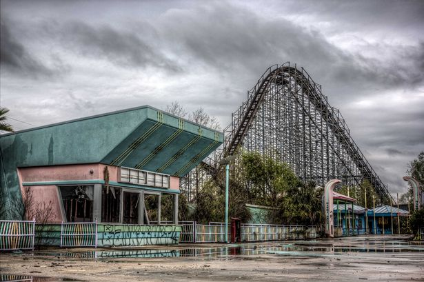 Six Flags is now overgrown with inhospitable wildlife