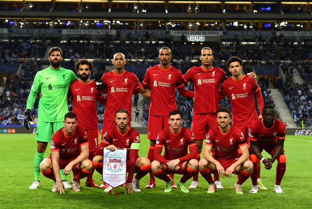 Liverpool named a close to full strength team for the trip to Porto