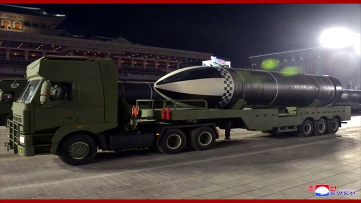 North Korea fires 'new hypersonic missile' into ocean as test launch baffles experts