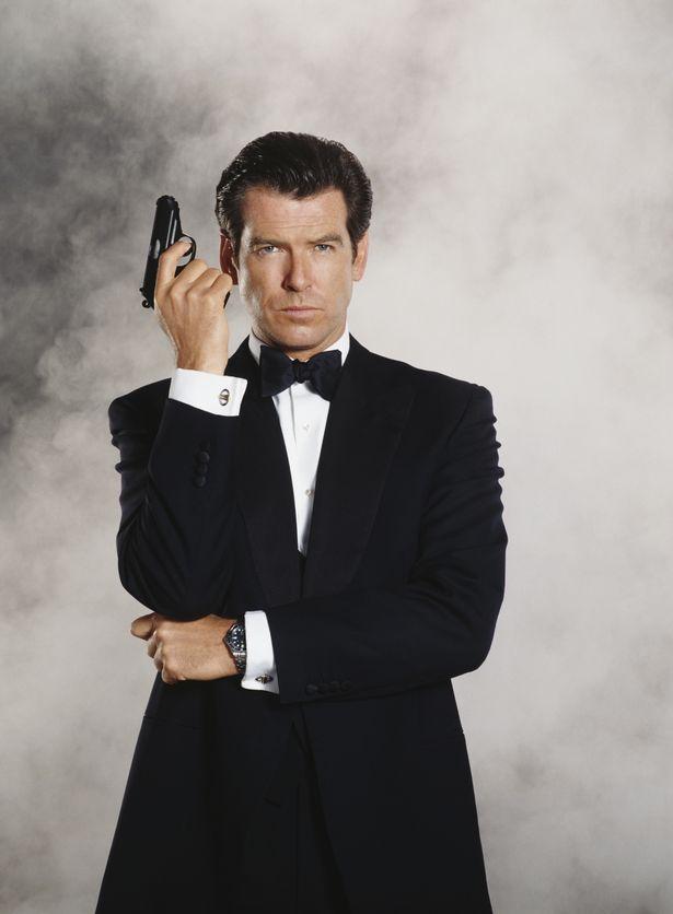 Pierce Brosnan stars as 007 in the James Bond film 'Tomorrow Never Dies' 1997