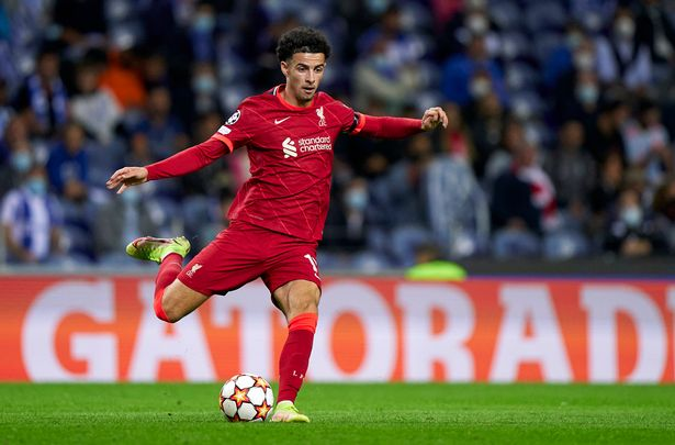 Curtis Jones provided four assists as Liverpool romped to a 5-1 win over Porto