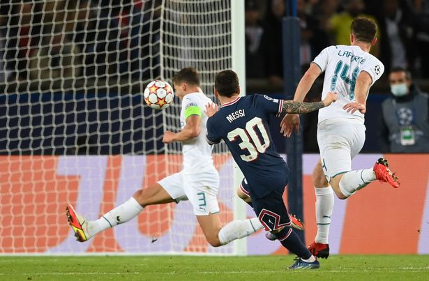 Messi scored a wonderful goal from 20-yards out to seal PSG's win against City on Tuesday