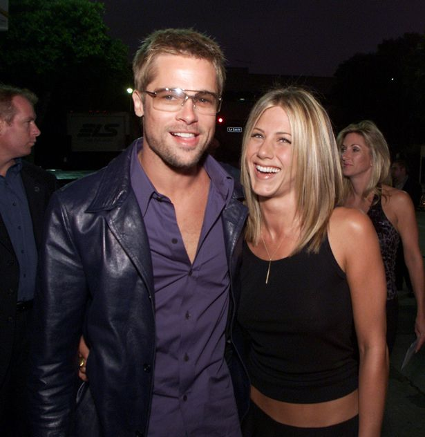 She was previously married to Brad Pitt for five years