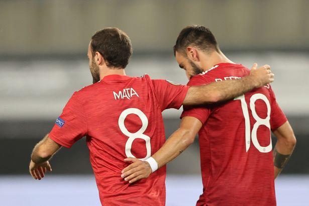 Bruno Fernandes has stolen Juan Mata's spot in the first team