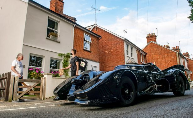 The top 40 list featured three different Batmobiles from the Batman movie franchise