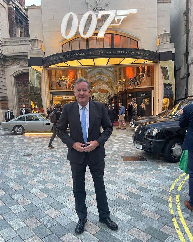 Fans recently questioned Piers' James Bond comment