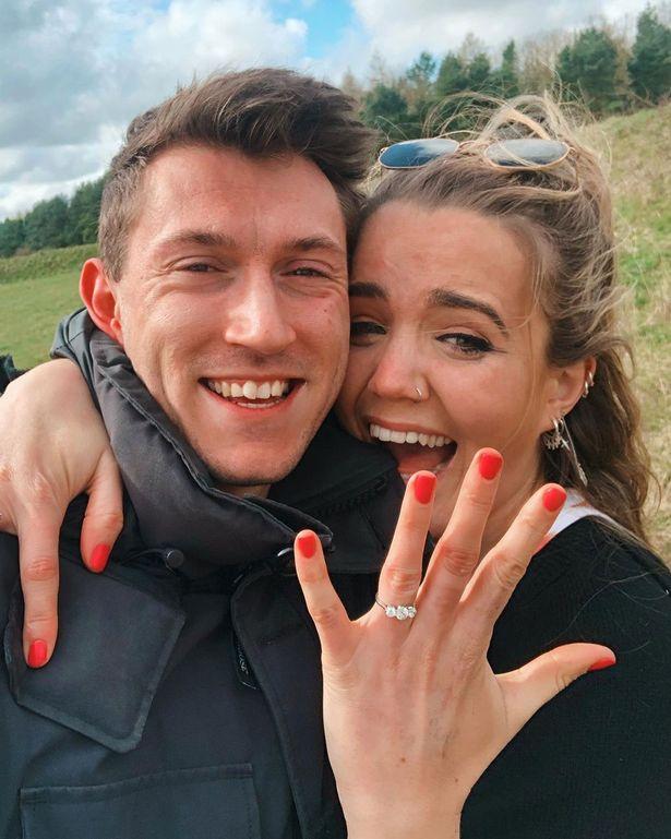 Emily Clarkson engaged