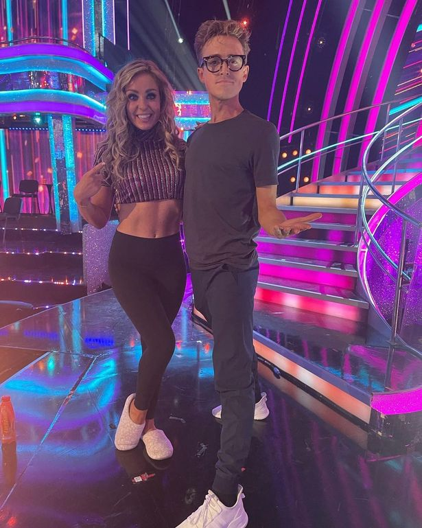 Last week Tom and Amy performed a Cha-Cha routine and received 21 points out of 40
