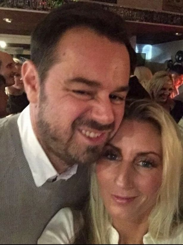 Danny Dyer had tried to slip away with his wife from some private time