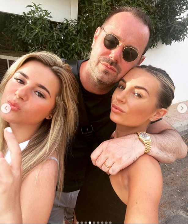 Danny was caught out by his two daughters