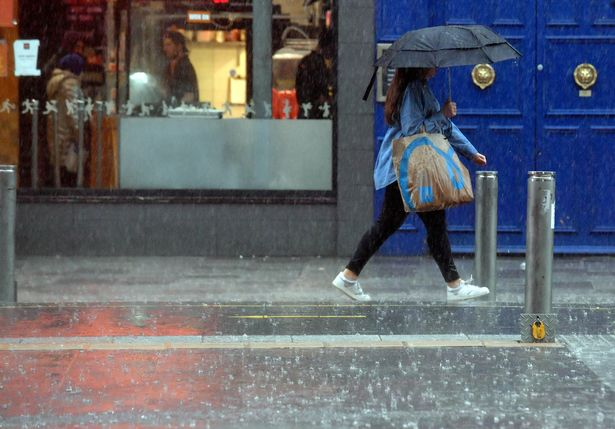 UK weather: Heatwave truly gone with rains today and snow just around the corner
