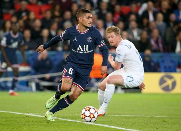 Verratti starred for Paris Saint-Germain against Manchester City