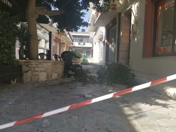 The island has experienced over 200 aftershocks since Monday, according to Hahlioutis