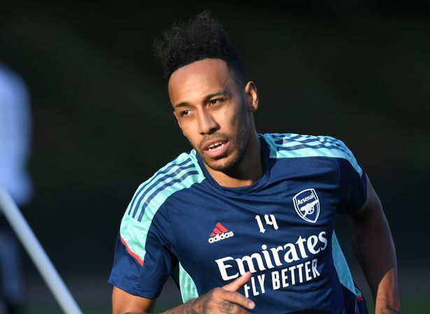 Pierre-Emerick Aubameyang scored Arsenal's first Premier League goal this season