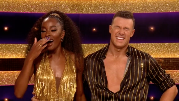 Strictly's AJ Odudu set a new show record in week one