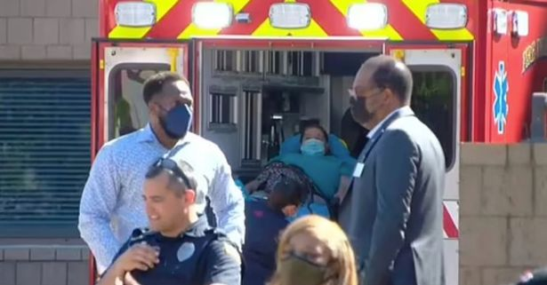 Police said some injuries were very serious, with at least four in critical condition