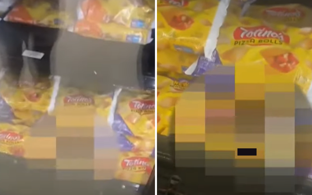 Alleged 'pizza pooper' caught after defecating in supermarket freezer