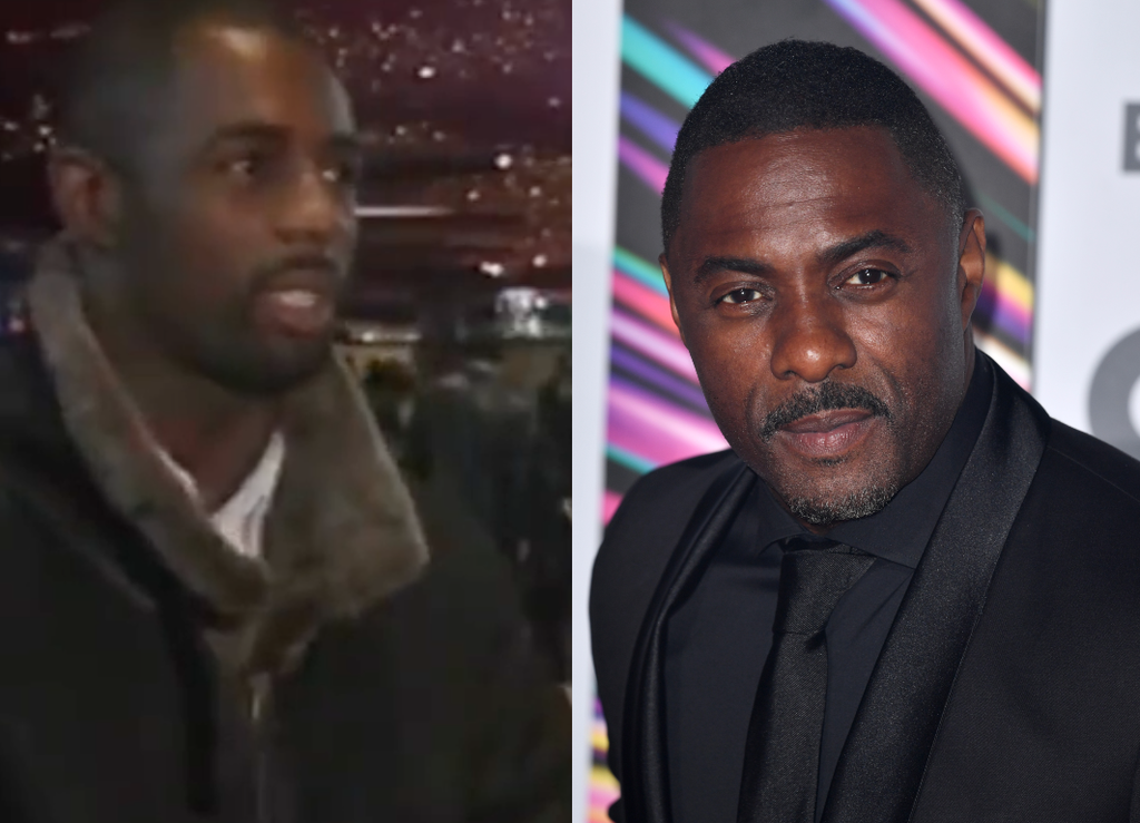 Amazing resurfaced video sees a young Idris Elba praise James Bond in 1995