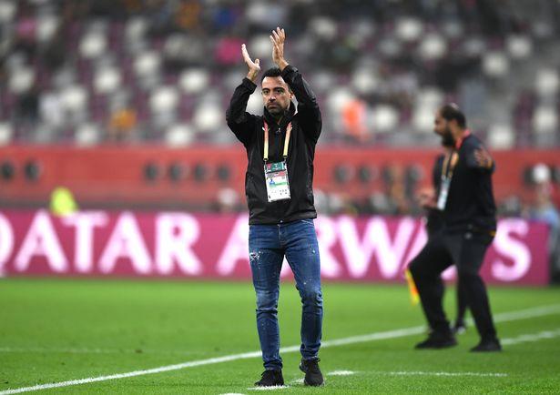 Xavier Hernandez, Head Coach of Al-Sadd Sports Club during the FIFA Club World Cup 2019 5th place match between Al-Saad Sports Club and Esperance Sportive de Tunis at Khalifa International Stadium on December 17, 2019 in Doha, Qatar.