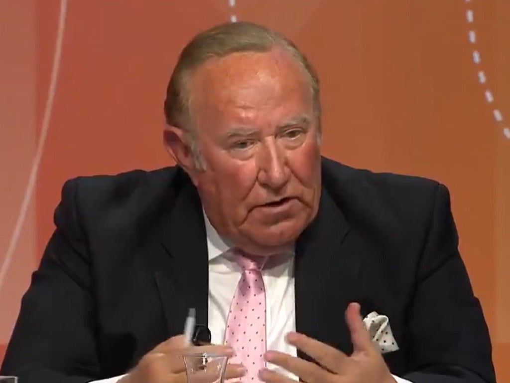 Andrew Neil reveals reason he quit GB News – but not everyone is buying it