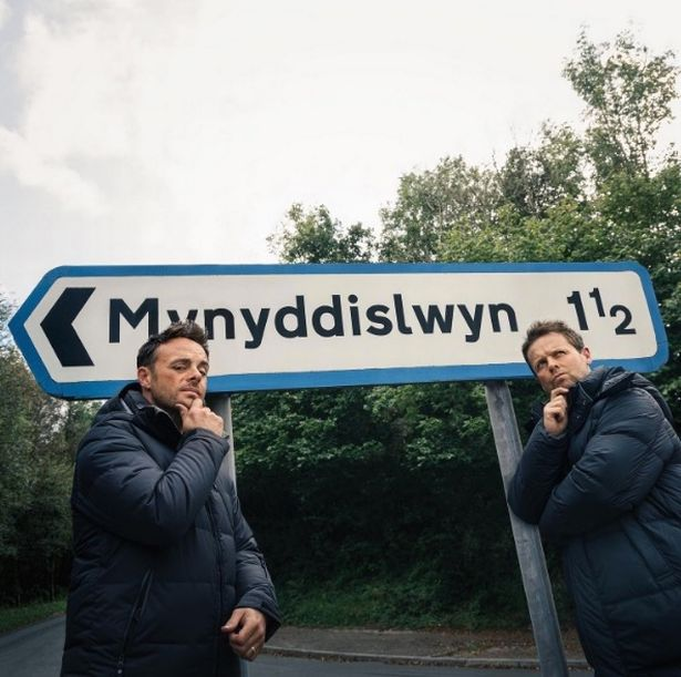 Ant and Dec teased fans as they arrived back in Wales for I'm A Celeb