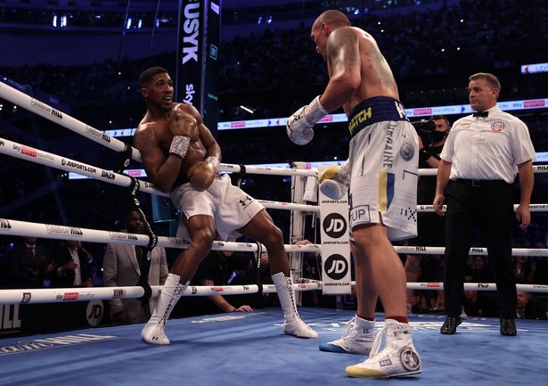 Anthony Joshua was unable to hold onto his belts against Oleksandr Usyk