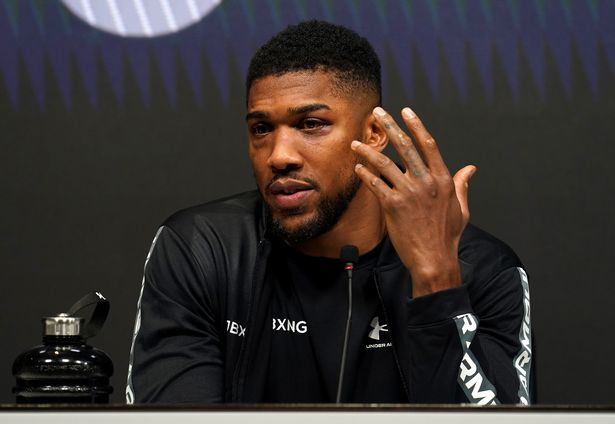Anthony Joshua has left the door open to a fight with Tyson Fury