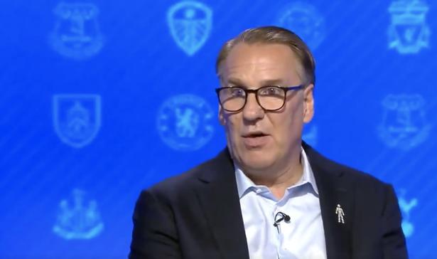 Paul Merson speaks on Sky Sports