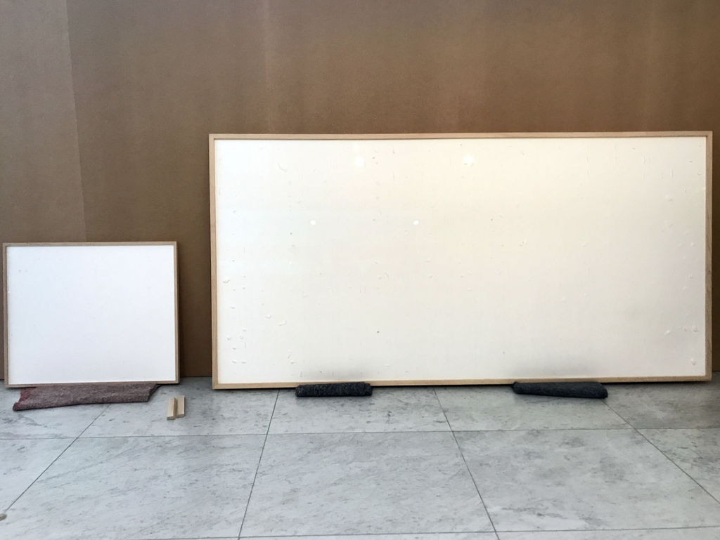 Artist given $84,000 by museum and returns two blank canvases called 'Take the Money and Run'