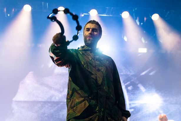Liam Gallagher shows off bruised face after 'falling from helicopter'