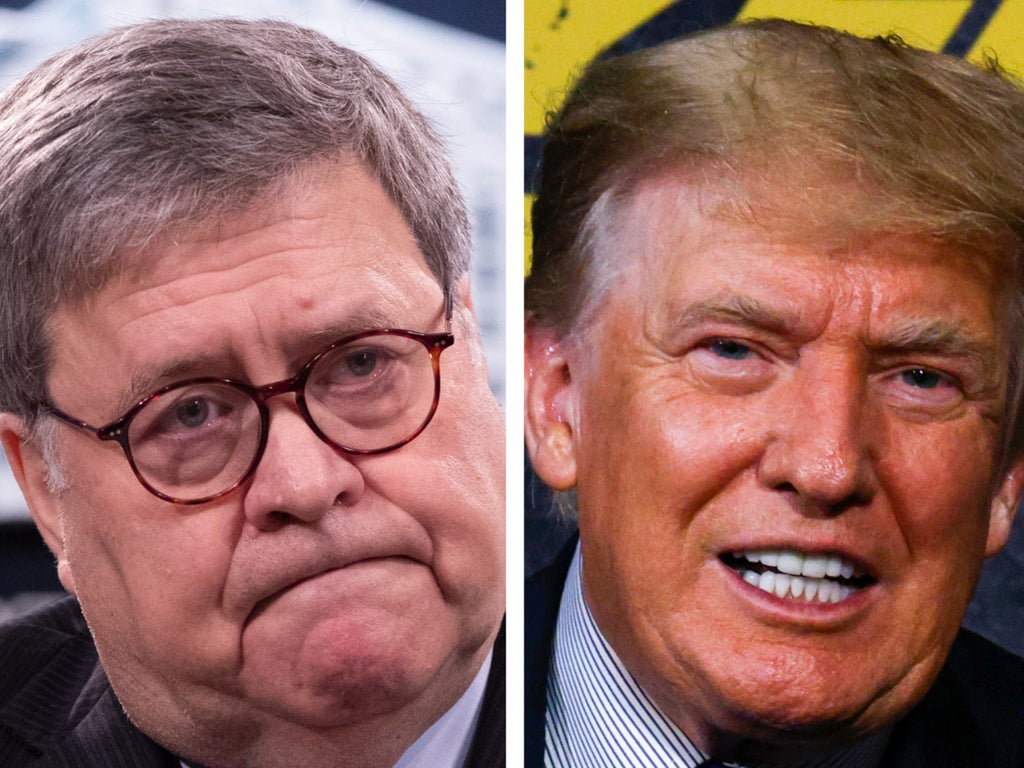 Barr told Trump that 'suburban voters think you're an asshole', new book claims