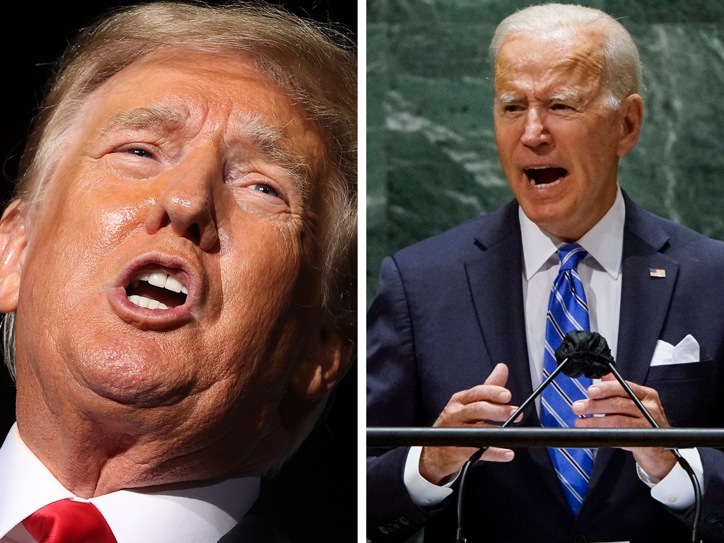 Biden reportedly called Trump a 'f**king a**hole' for leaving his golf 'toys' at the White House