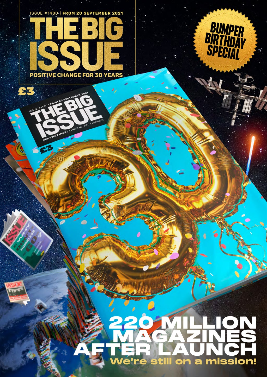 Big Issue marks 30th anniversary with new campaign against homelessness