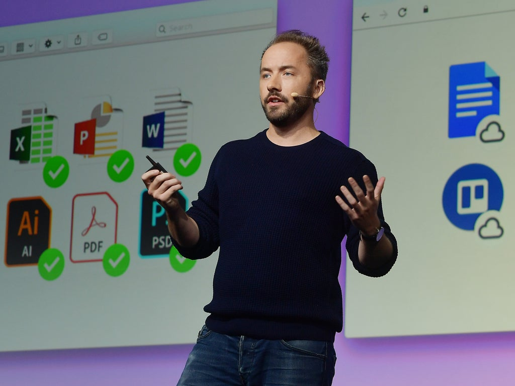 Billionaire Dropbox founder says Covid is about to kill the 40-hour work week