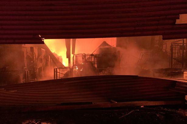 Birmingham fire: 70 firefighters rush to tackle blaze 'near alcoholic drink wholesaler'