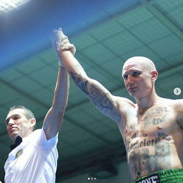 Michele Brioli had taken part in 16 fights before facing Hassan Nourdine