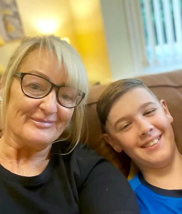 Judith Mcgonnell was horrified when she heard that her grandson Jayden had been put in isolation over his haircut
