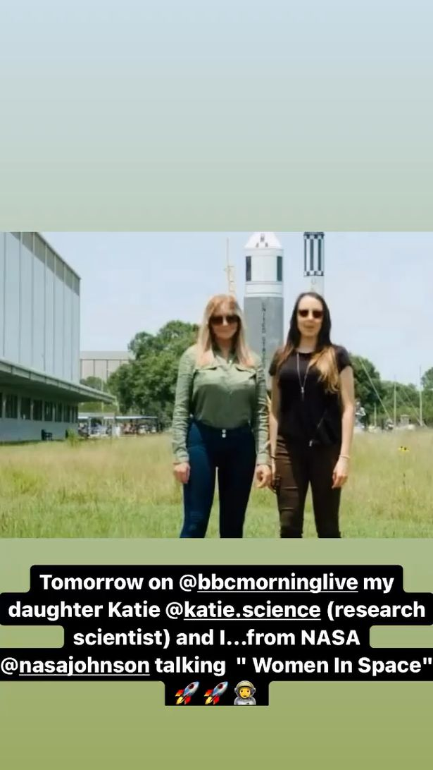 Carol and her daughter appeared on BBC's Morning Live today to shine a spotlight on the inspirational women and also how they are involved in the US space programme