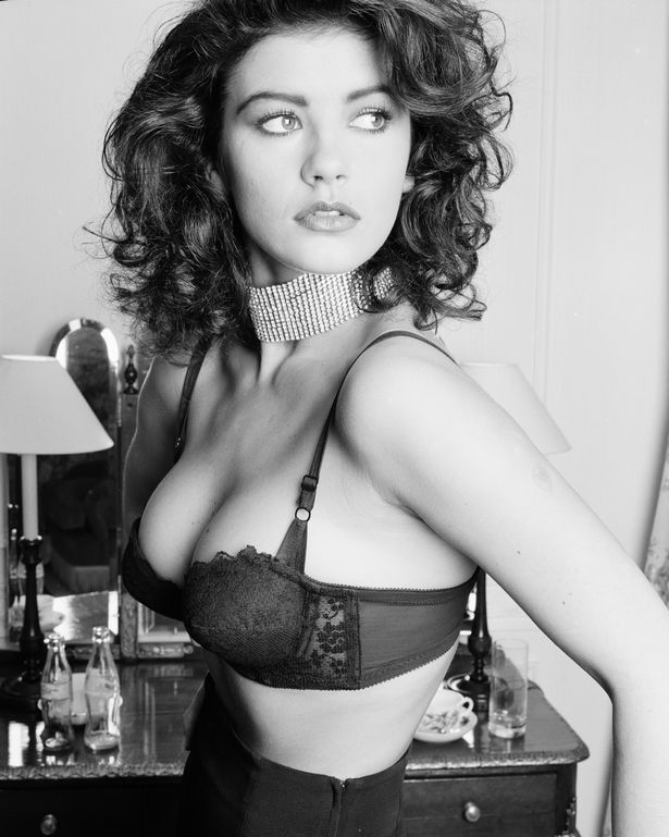 Catherine caused quite a stir in 1992 when she stripped to her bra for a racy photoshoot