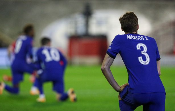 Chelsea's other stars will continue taking the knee while Tuchel backs 'anti-racist' Marcos Alonso