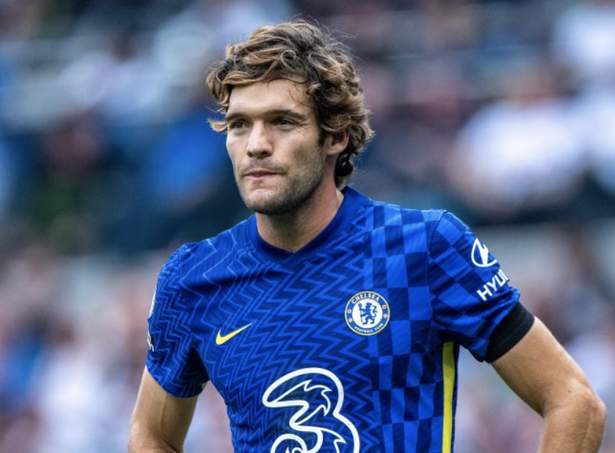 Chelsea defender Marcos Alonso will no longer be taking the knee