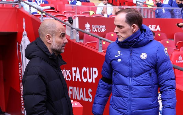 Rumours have circulated of a rivalry between Thomas Tuchel and Pep Guardiola