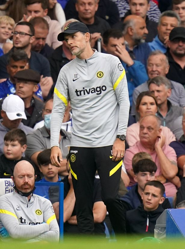 Chelsea manager Thomas Tuchel during the Premier League match at Stamford Bridge, London. Picture date: Saturday September 25, 2021